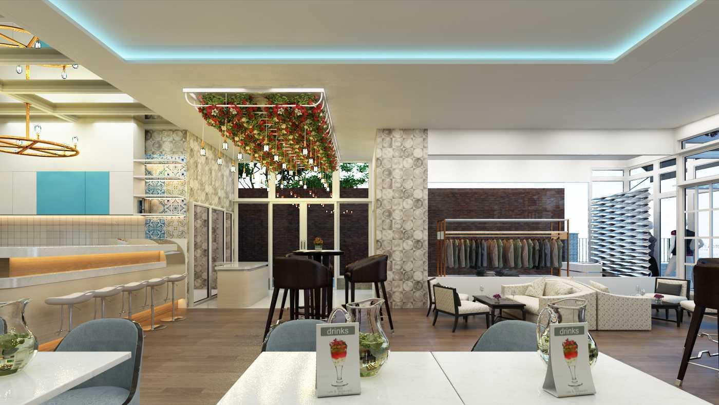 Maxima Interior & Architect Studio Cafe Design Langsa, Langsa Kota, Kota Langsa, Aceh, Indonesia Langsa, Langsa Kota, Kota Langsa, Aceh, Indonesia Cafe Design - Seating Area Contemporary  42359
