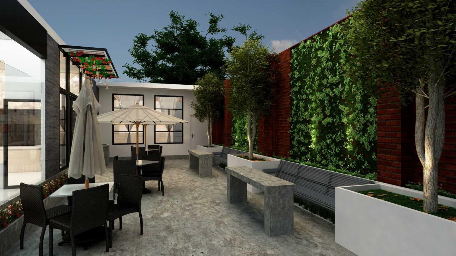 Maxima Interior & Architect Studio Cafe Design Langsa, Langsa Kota, Kota Langsa, Aceh, Indonesia Langsa, Langsa Kota, Kota Langsa, Aceh, Indonesia Cafe Design - Exterior Kontemporer  42362