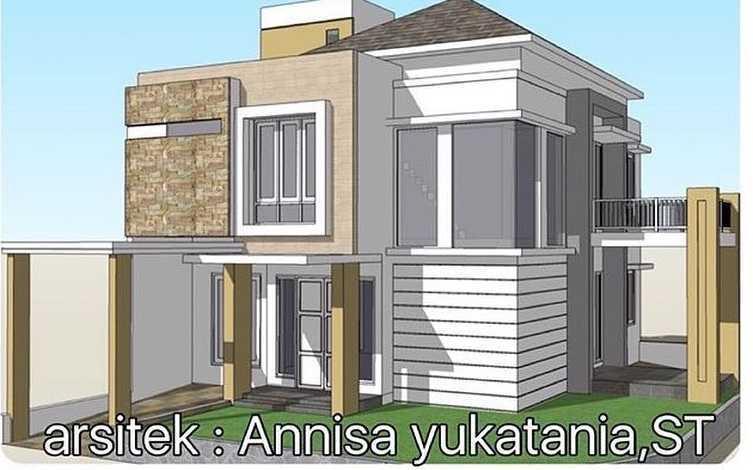 Yukatania Mandiri K Modern House Bandar Lampung, Kota Bandar Lampung, Lampung, Indonesia Bandar Lampung, Kota Bandar Lampung, Lampung, Indonesia Facade View Modern  43763