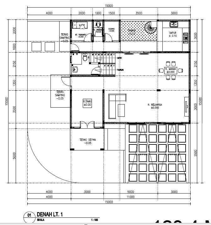 Yukatania Mandiri D Tropical House Bandar Lampung, Kota Bandar Lampung, Lampung, Indonesia Bandar Lampung, Kota Bandar Lampung, Lampung, Indonesia Floorplan Tropical  43767