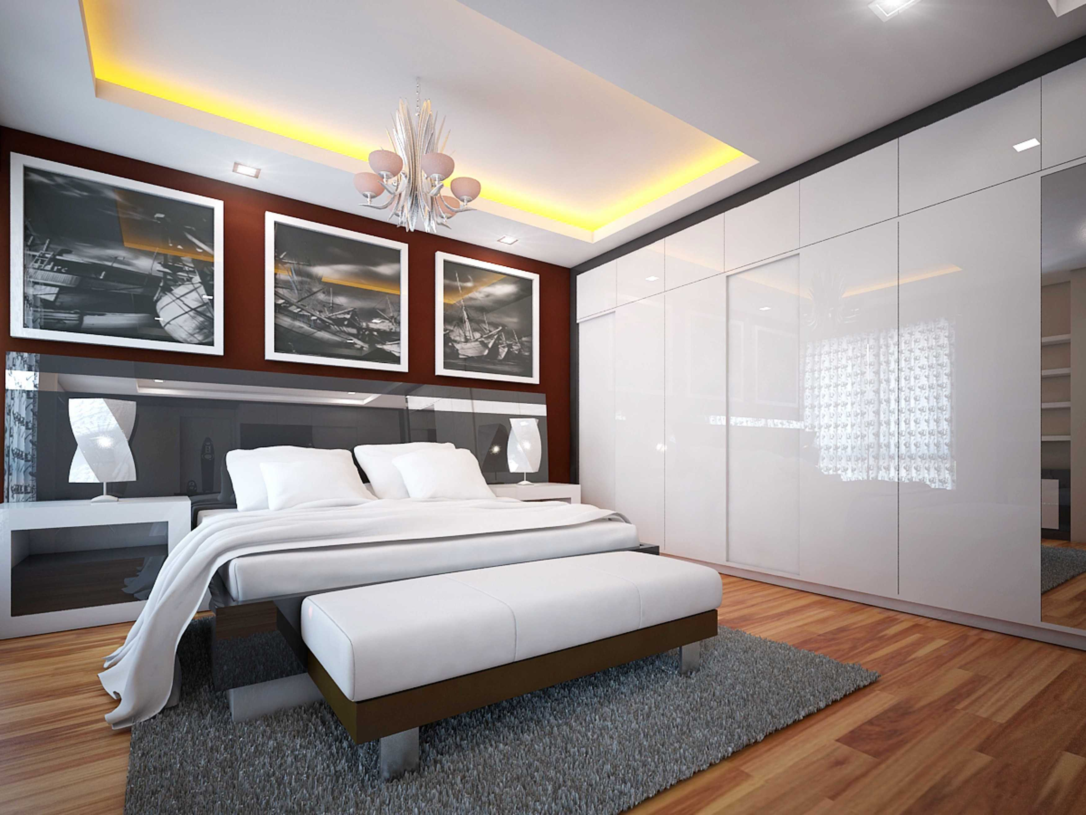 A2M Architect Indo S House Kota Makassar, Sulawesi Selatan, Indonesia Kota Makassar, Sulawesi Selatan, Indonesia Bedroom Modern  43626