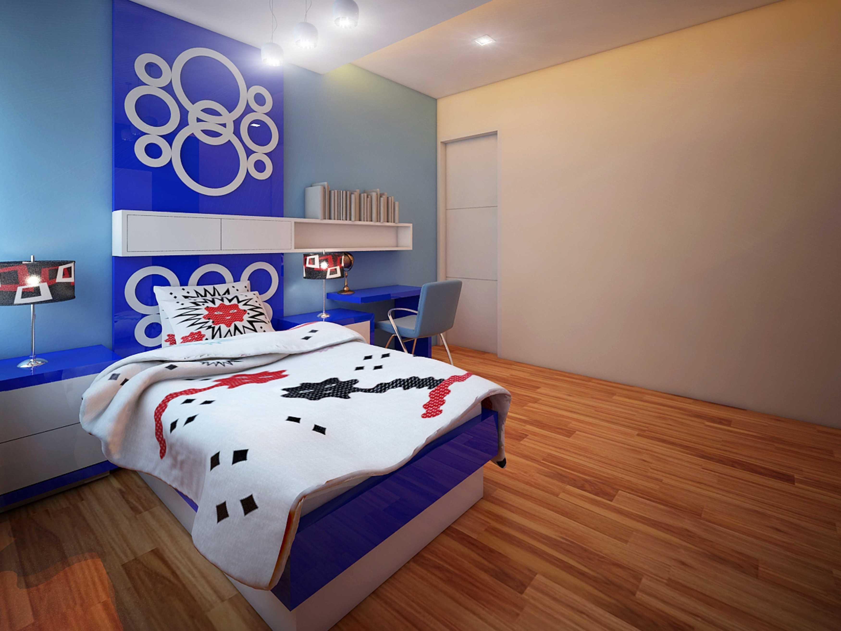 A2M Architect Indo S House Kota Makassar, Sulawesi Selatan, Indonesia Kota Makassar, Sulawesi Selatan, Indonesia Kids Bedroom   43627