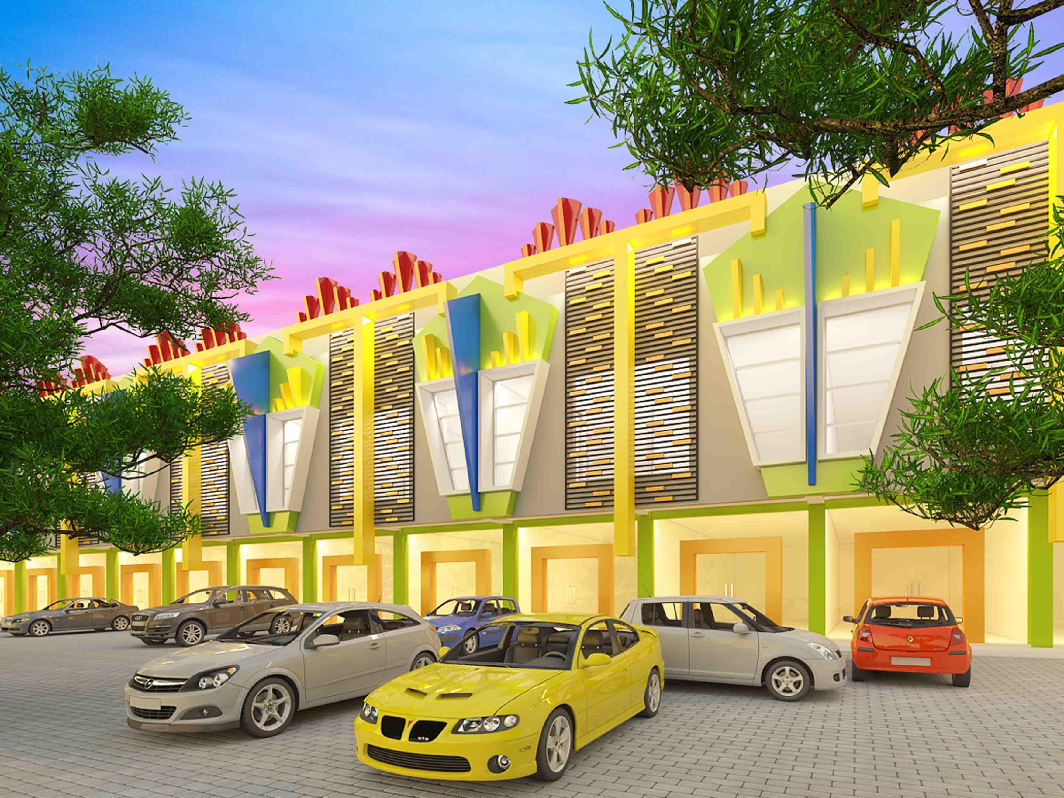 A2M Architect Indo Hera Permata Residence Balikpapan Kota Balikpapan, Kalimantan Timur, Indonesia Kota Balikpapan, Kalimantan Timur, Indonesia Facade View   43669
