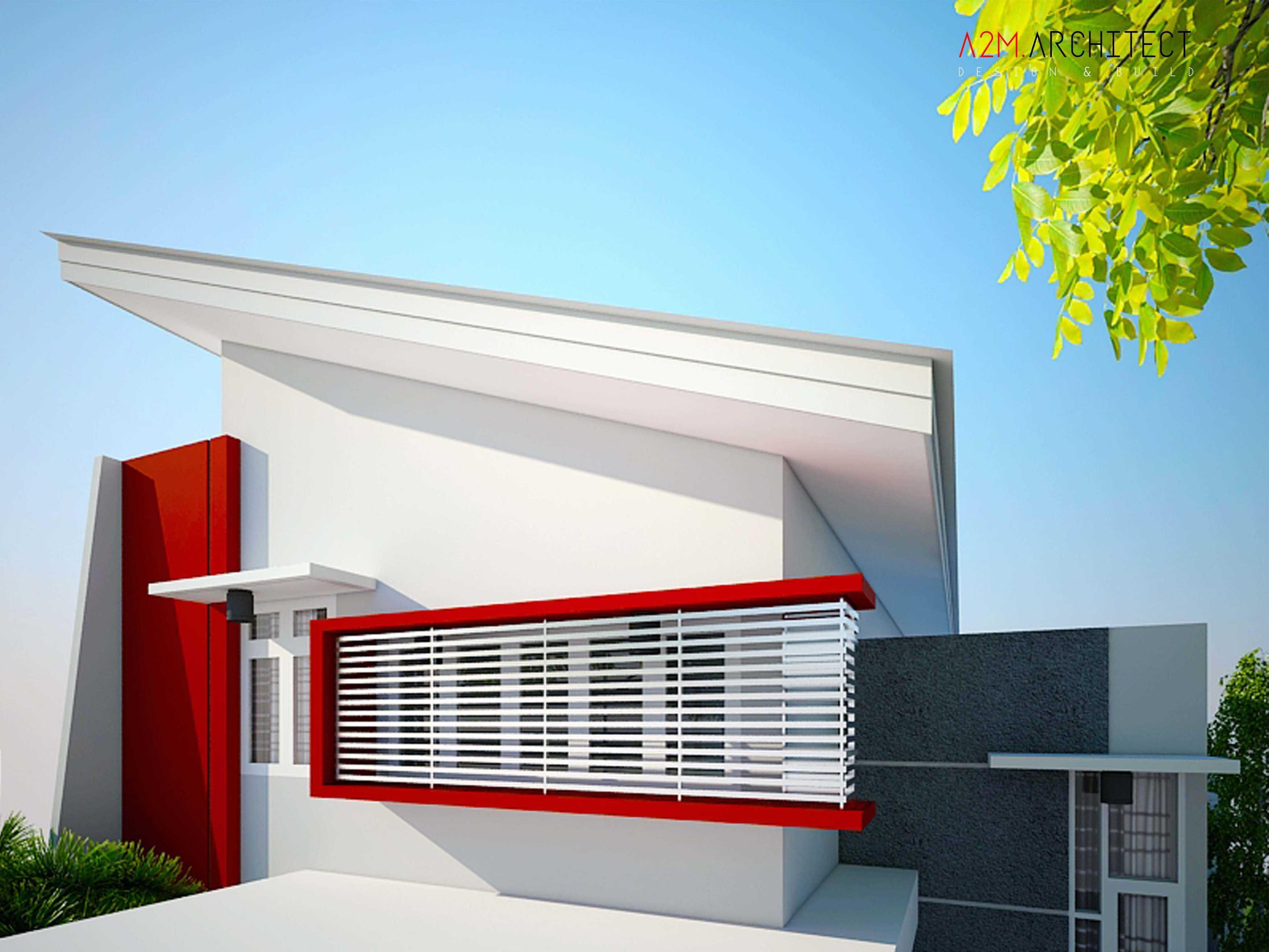 A2M Architect Indo H R House Kota Makassar, Sulawesi Selatan, Indonesia Kota Makassar, Sulawesi Selatan, Indonesia Exterior View Kontemporer  46518