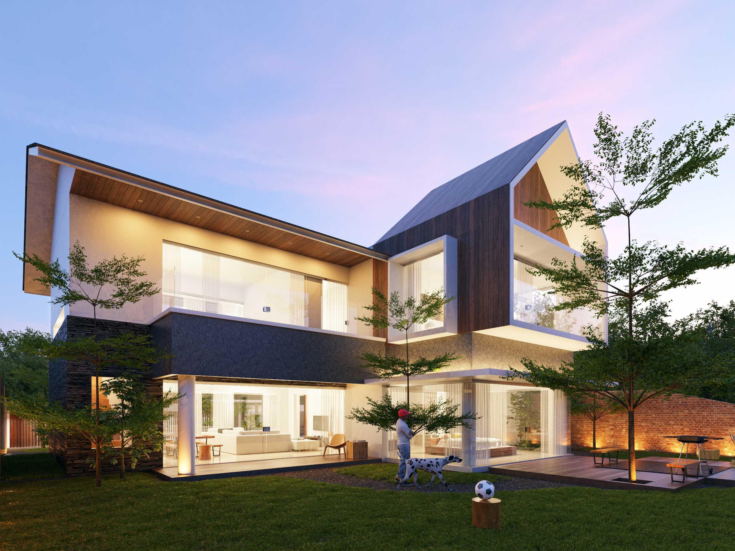 Sony Budiono & Partner Architect Firm Villa Kecil Pulau Putri Pulau Putri, Indonesia Pulau Putri, Indonesia Facade View Contemporary  42782