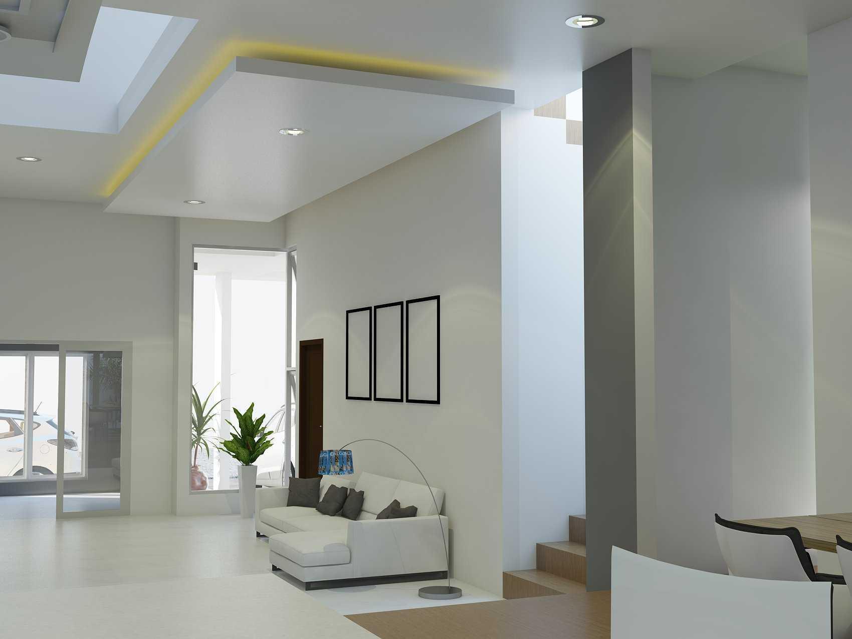 Arz Studio Interior Project - Di Kupang Ntt Kupang, Kota Kupang, Nusa Tenggara Tim., Indonesia Kupang, Kota Kupang, Nusa Tenggara Tim., Indonesia Family Room Modern <P>Untuk Plafond Kita Memilih Perpaduan Konsep Hidden Light</p> 42750