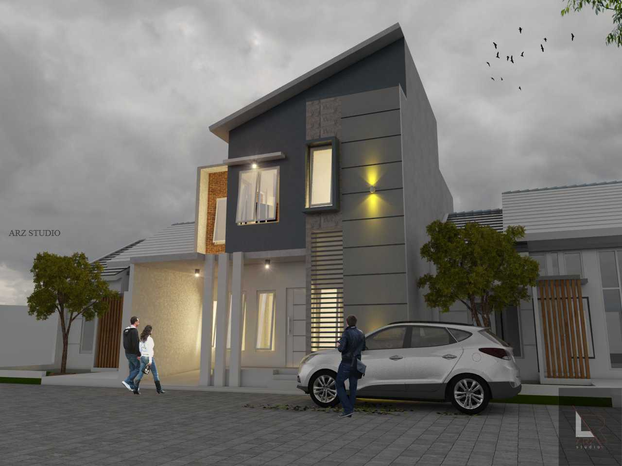 Arz Studio Desain Renovasi Rumah 2 Lt. Malang, Kota Malang, Jawa Timur, Indonesia Malang, Kota Malang, Jawa Timur, Indonesia View Malam  <P>Concept</p> 45339