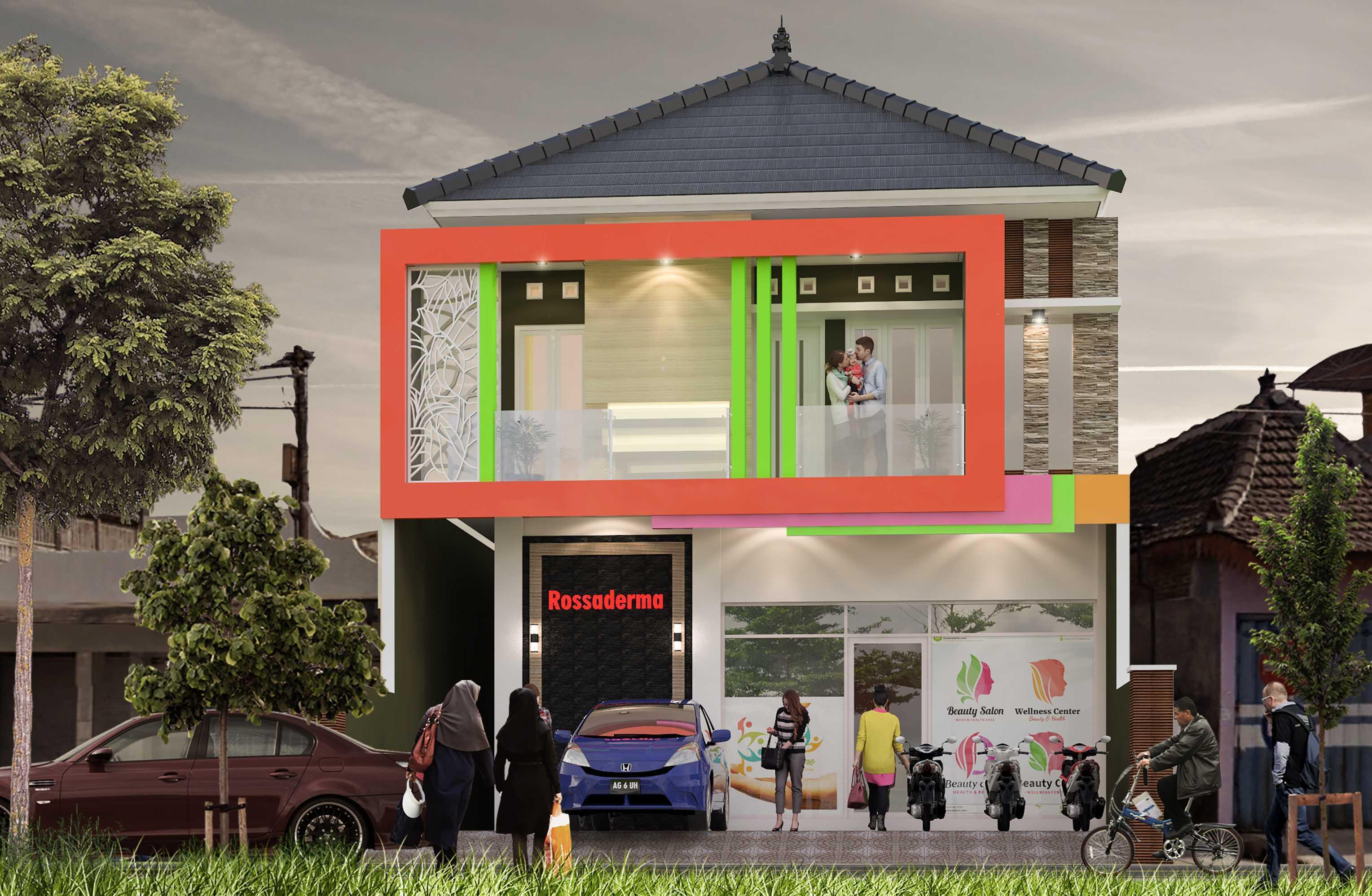 Nggambar Omah | Design And Build The Rossaderma Carehouse Blitar, Jawa Timur, Indonesia Blitar, Jawa Timur, Indonesia Front View Rendering Minimalist <P>Mempertahankan Fasad Existing Di Lantai 1</p> 43737