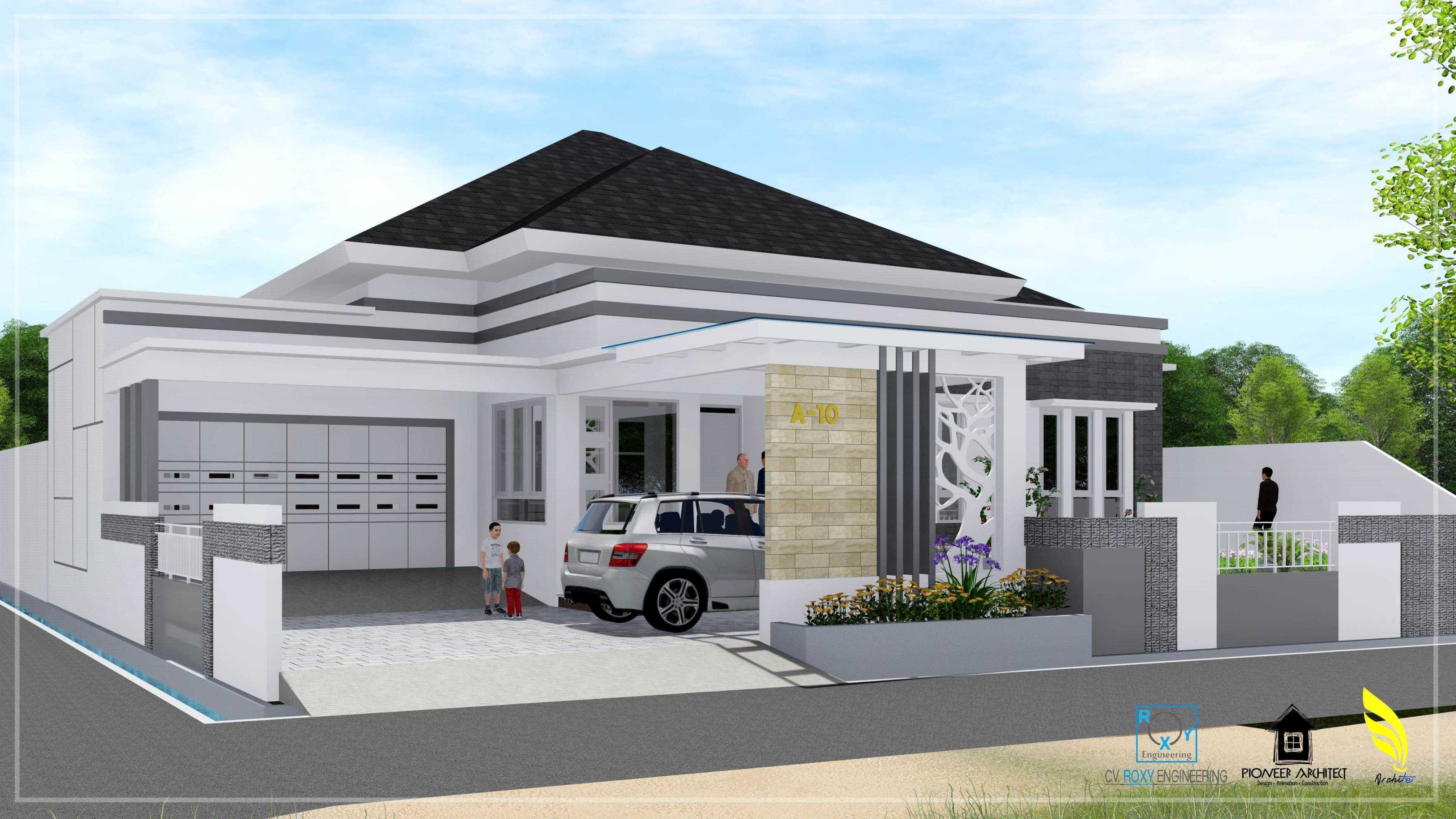 Pionner Architect H House Banda Aceh, Kota Banda Aceh, Aceh, Indonesia Banda Aceh, Kota Banda Aceh, Aceh, Indonesia Exterior View Modern  43246