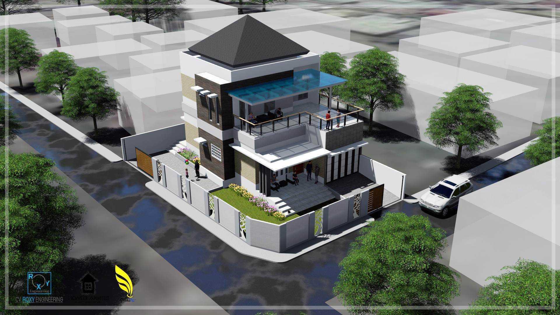 Pionner Architect Alung House Banda Aceh, Kota Banda Aceh, Aceh, Indonesia Banda Aceh, Kota Banda Aceh, Aceh, Indonesia Bird Eye View   43276