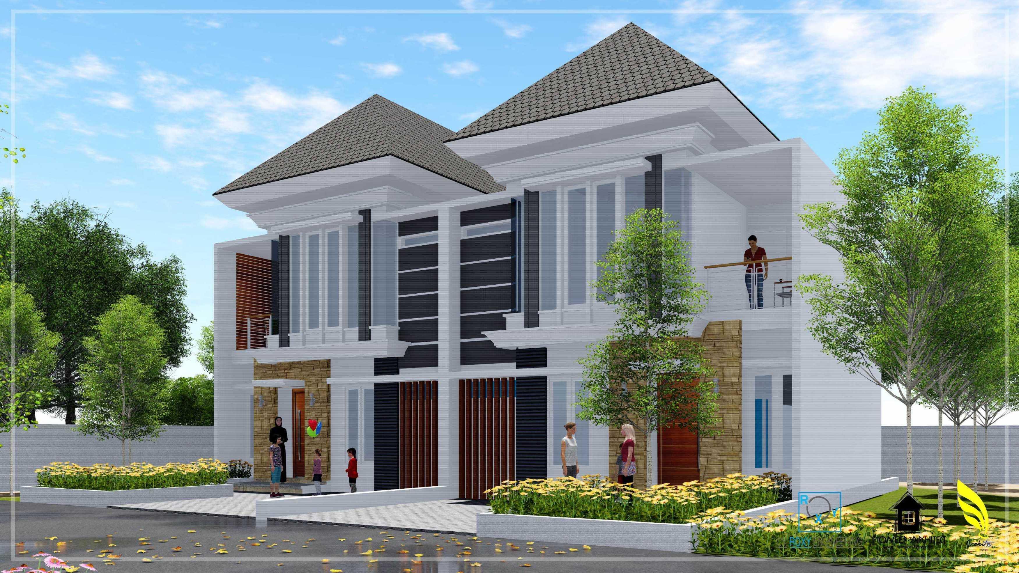 Pionner Architect Marakez Residence Banda Aceh, Kota Banda Aceh, Aceh, Indonesia Banda Aceh, Kota Banda Aceh, Aceh, Indonesia Facade View Modern  43311