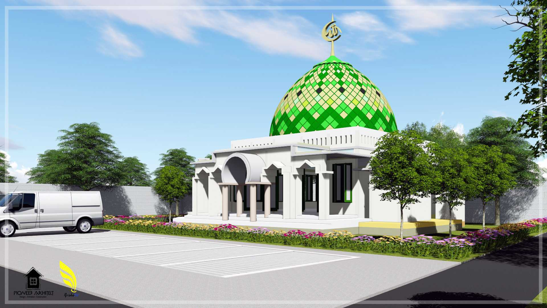 Pionner Architect Sekalah Terpadu Kabupaten Aceh Timur, Aceh, Indonesia Kabupaten Aceh Timur, Aceh, Indonesia Mosque Klasik  43409