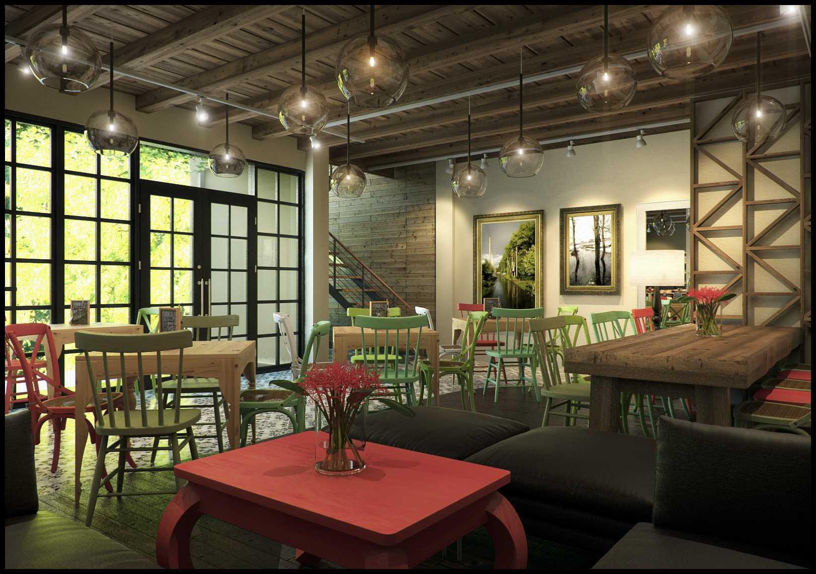 Design Archade Basilia Cafe Semarang, Kota Semarang, Jawa Tengah, Indonesia Semarang, Kota Semarang, Jawa Tengah, Indonesia Seating Area Interior View Kontemporer  43569