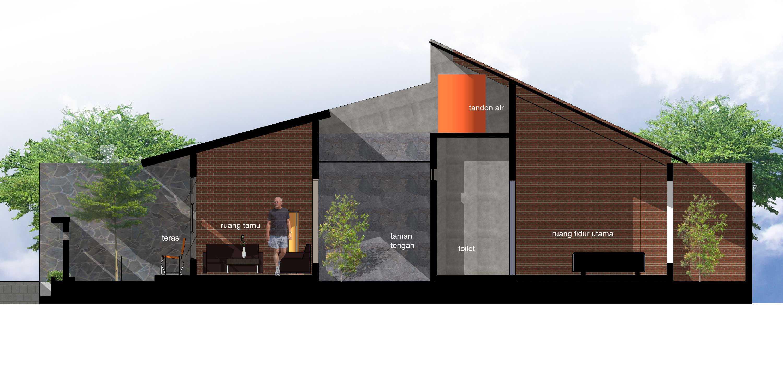 Yulius Gilang Architecture Design Studio Rumah Keruing  Semarang, Kota Semarang, Jawa Tengah, Indonesia Semarang, Kota Semarang, Jawa Tengah, Indonesia Section 3   47303