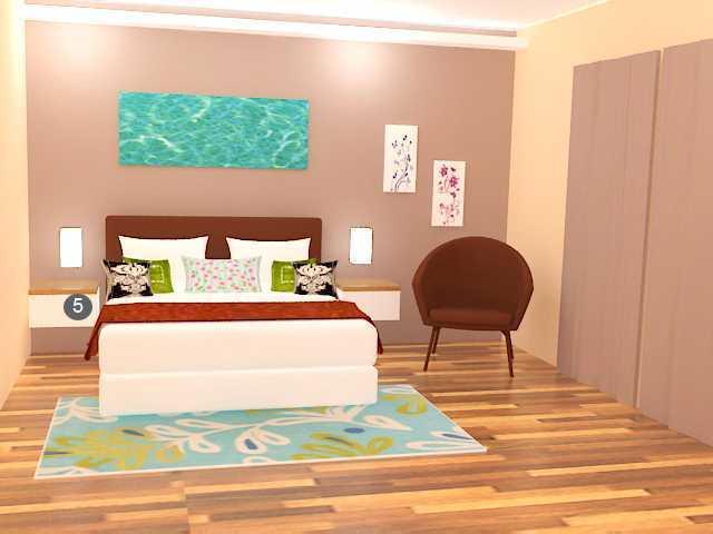 Arch.co Bd House Bekasi, Tambelang, Bekasi, Jawa Barat, Indonesia Bekasi, Tambelang, Bekasi, Jawa Barat, Indonesia Bedroom Minimalis  45873