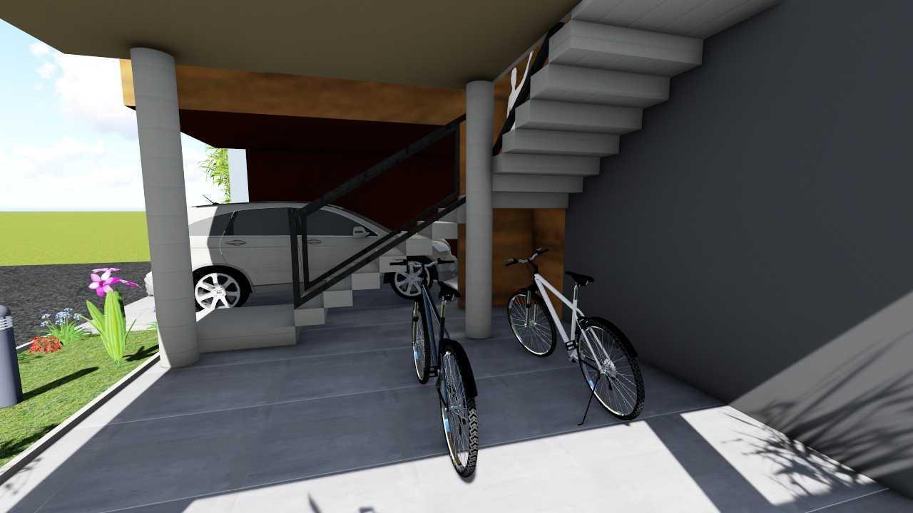 Sevi Edelweis Split House Lampung, Indonesia Lampung, Indonesia Garage   44871
