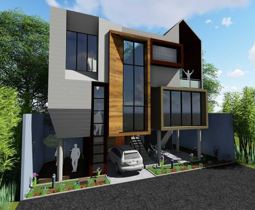 Sevi Edelweis Split House Lampung, Indonesia Lampung, Indonesia Facade View   44876