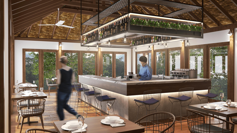 Gm Concept Wooden 2 Storey Restaurant Republik Tiongkok Republik Tiongkok Interior View Restaurant Classic  46122