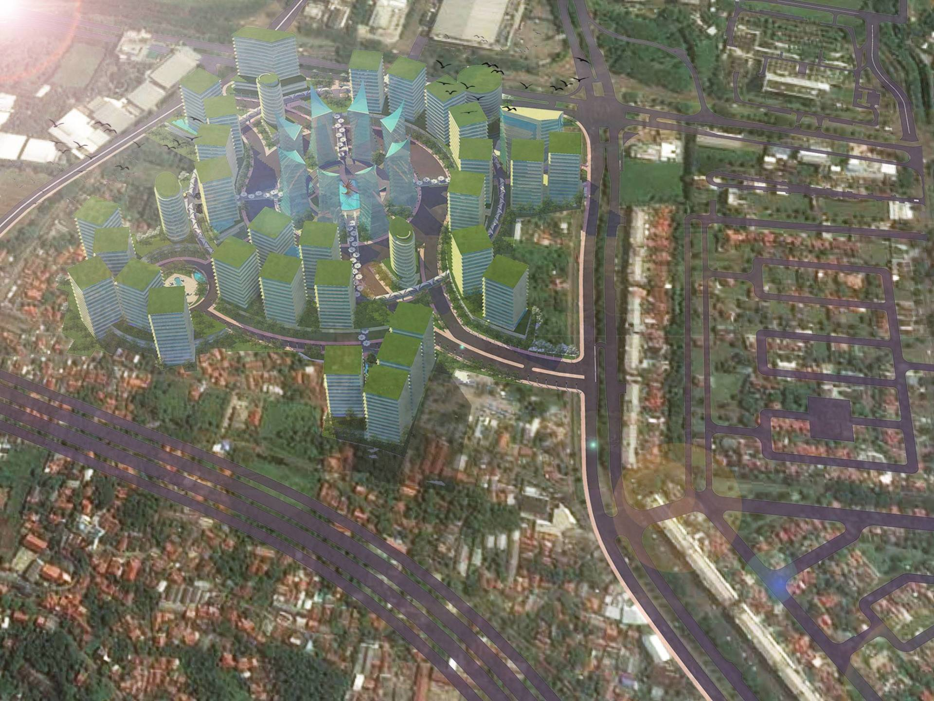 Evan Kriswandi The Radiant Bsd, South Tangerang Bsd, South Tangerang 3-Perspective Kontemporer  6574