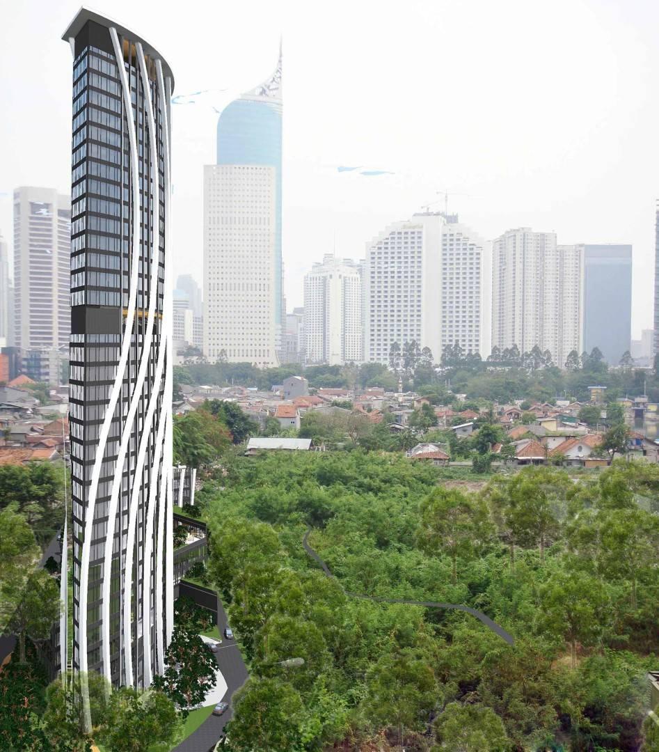 Evan Kriswandi Bourgeois Bohemian Hotel Jakarta Jakarta North Perspective   128