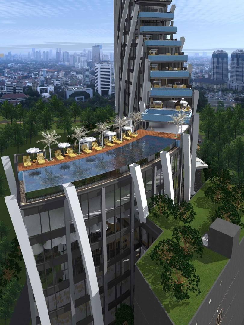 Evan Kriswandi Bourgeois Bohemian Hotel Jakarta Jakarta Infinity Pool   129