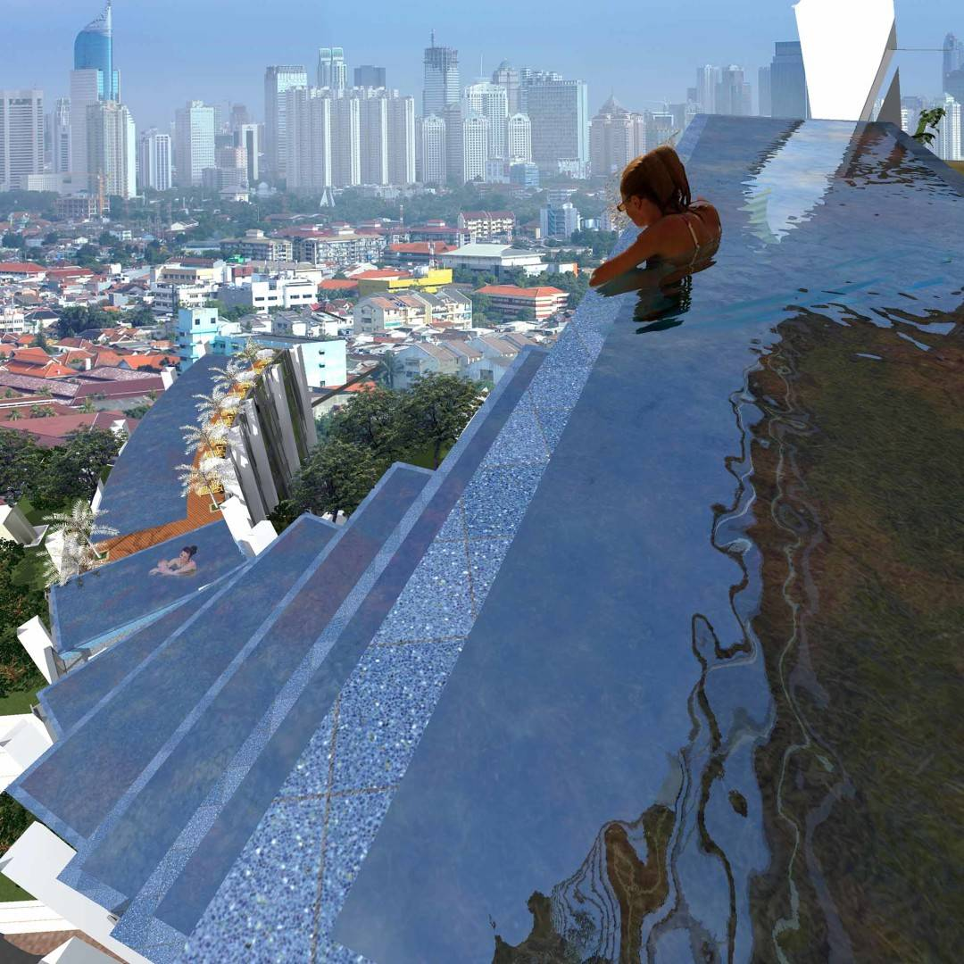 Evan Kriswandi Bourgeois Bohemian Hotel Jakarta Jakarta Private Infinity Pool   131
