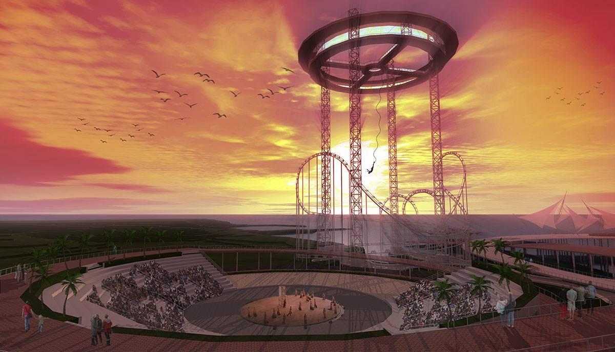 Evan Kriswandi The Lighthouse Resort  Batam Batam Sunset Amphitheater   672