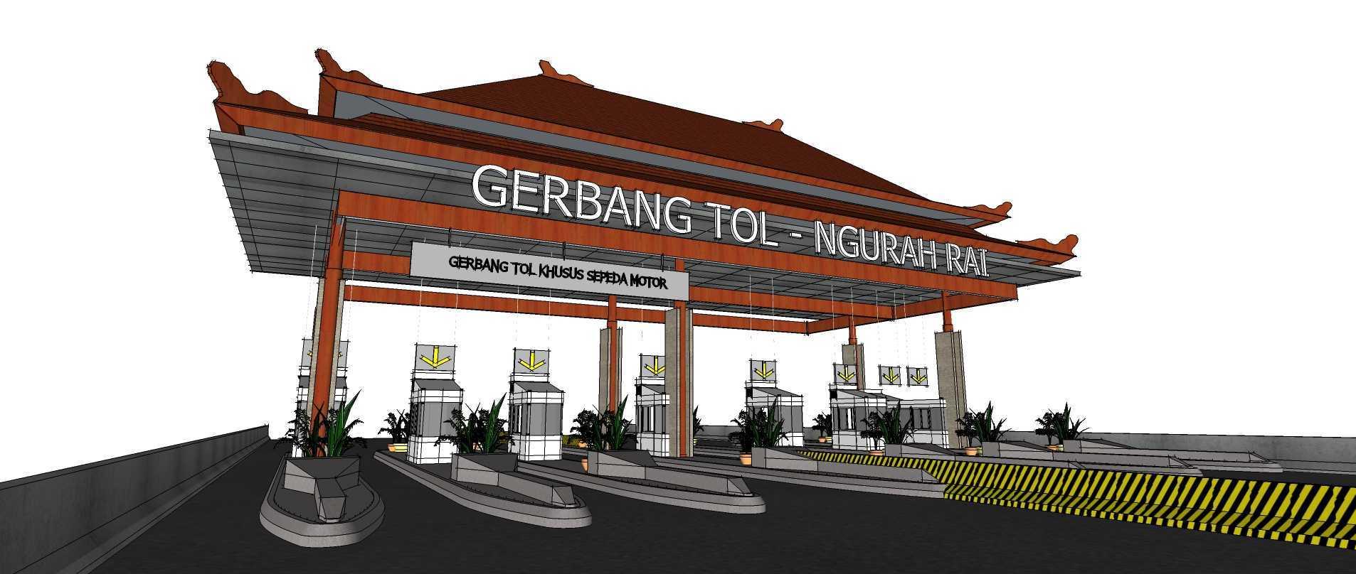 Gubah Ruang Ngurah Rai – Benoa Toll Gate Bali, Indonesia Bali, Indonesia Toll Gate View Traditional  50662