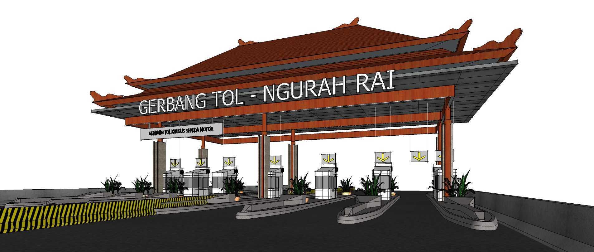 Gubah Ruang Ngurah Rai – Benoa Toll Gate Bali, Indonesia Bali, Indonesia Toll Gate View   50663