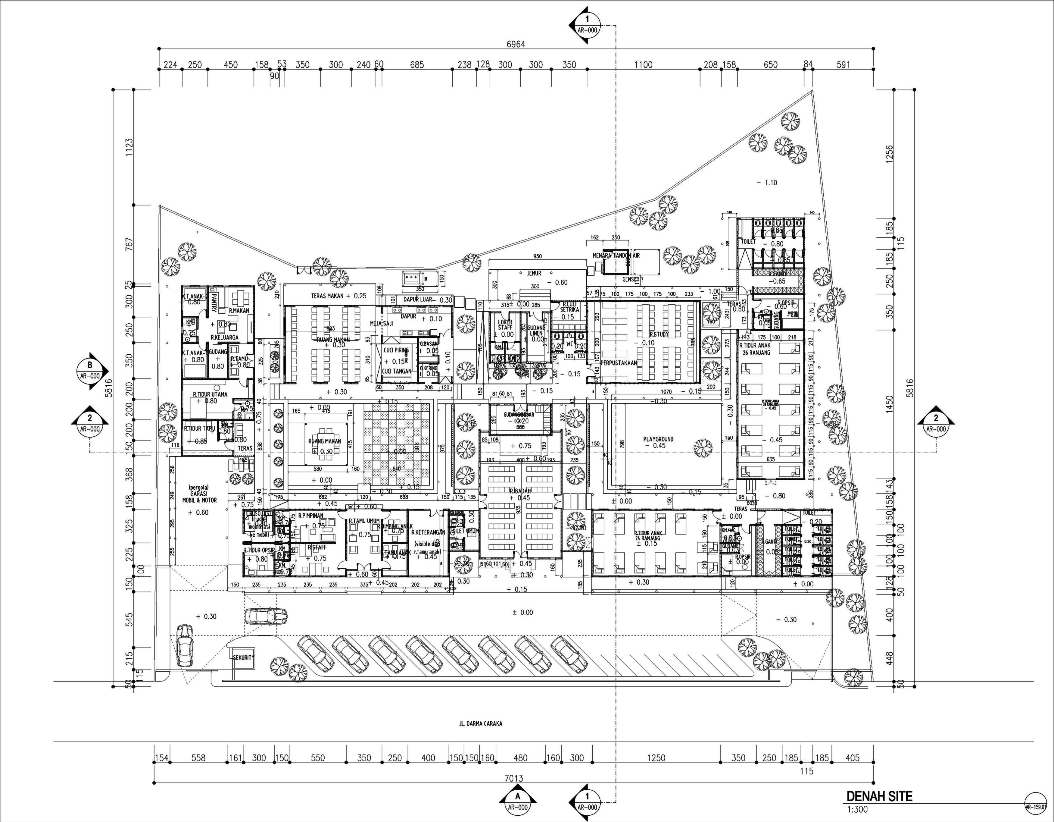 Gubah Ruang Studio Bk Putri Orphanages Pulau Nias, Sumatera Utara, Indonesia Pulau Nias, Sumatera Utara, Indonesia Floorplan   50665