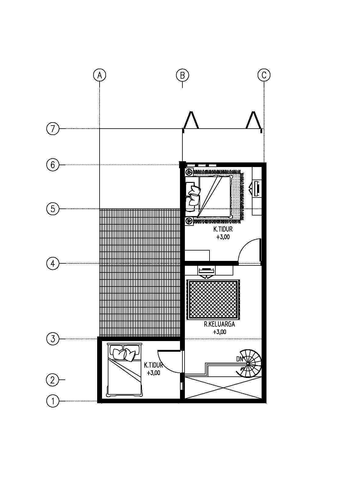 Gubah Ruang Studio R House Bandung, Kota Bandung, Jawa Barat, Indonesia Bandung, Kota Bandung, Jawa Barat, Indonesia Floorplan Minimalis  51177