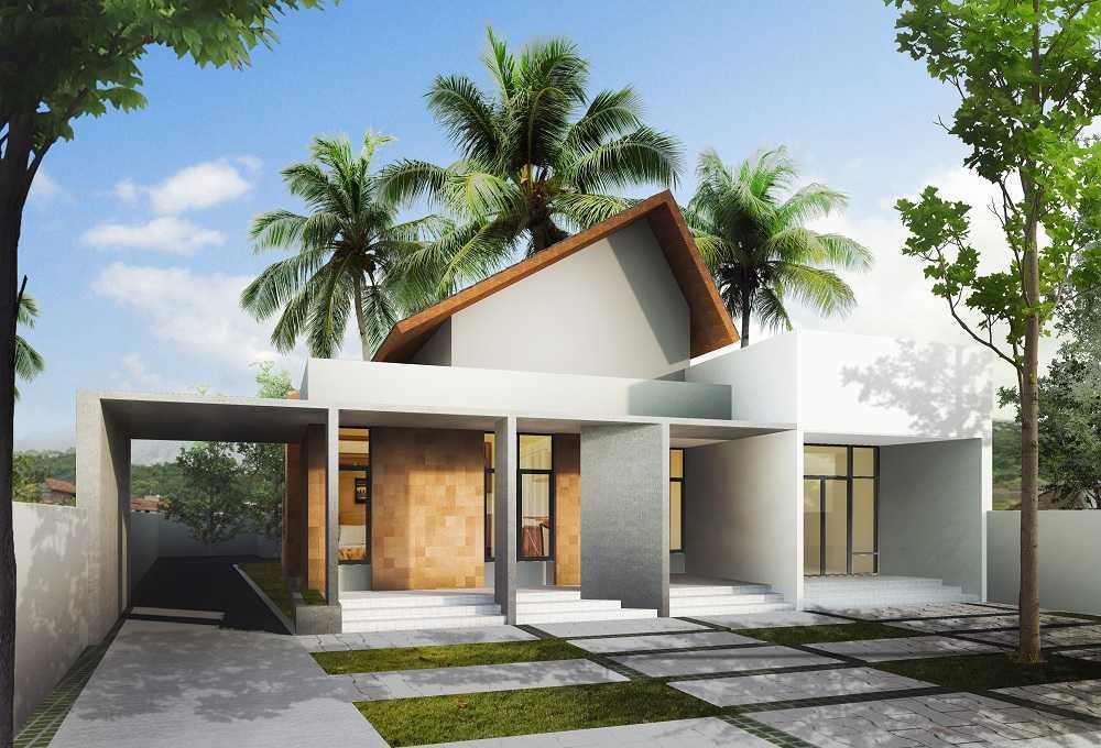 Gubah Ruang Studio Rt House Tasikmalaya, Jawa Barat, Indonesia Tasikmalaya, Jawa Barat, Indonesia Facade View Tropical  50829