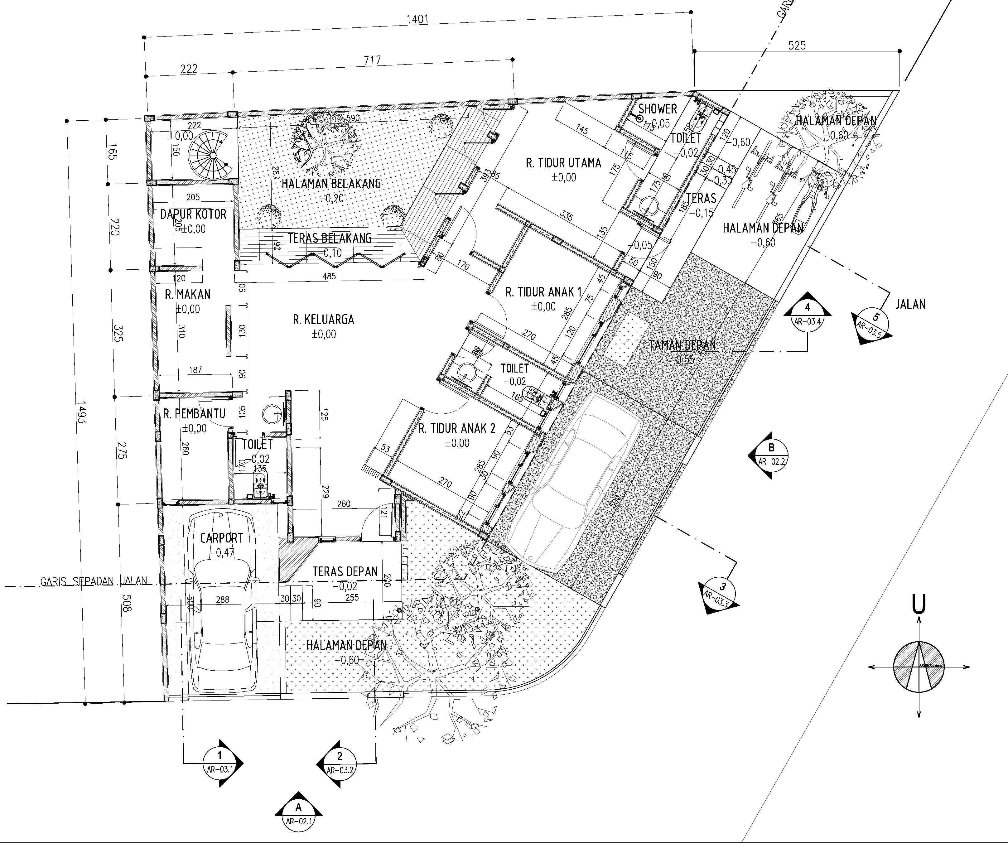 Gubah Ruang Studio Fc Residence Bogor, Jawa Barat, Indonesia Bogor, Jawa Barat, Indonesia Floorplan   50851