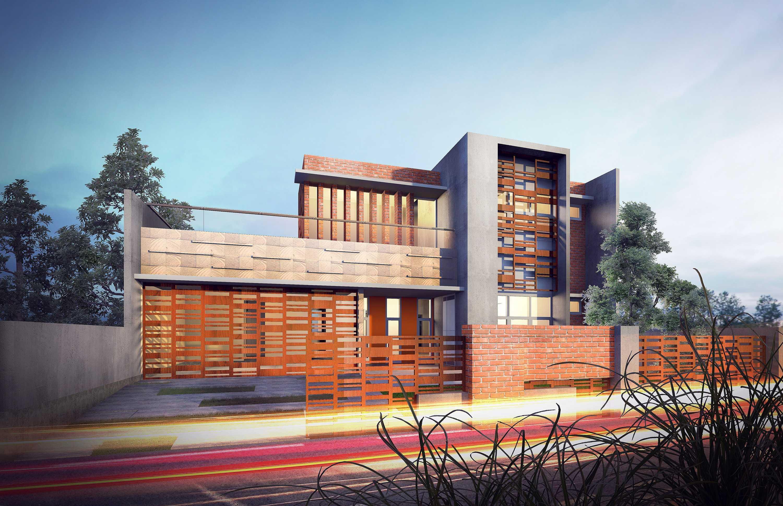 Gubah Ruang Lb Residence Bogor, Jawa Barat, Indonesia Bogor, Jawa Barat, Indonesia Facade View   50872