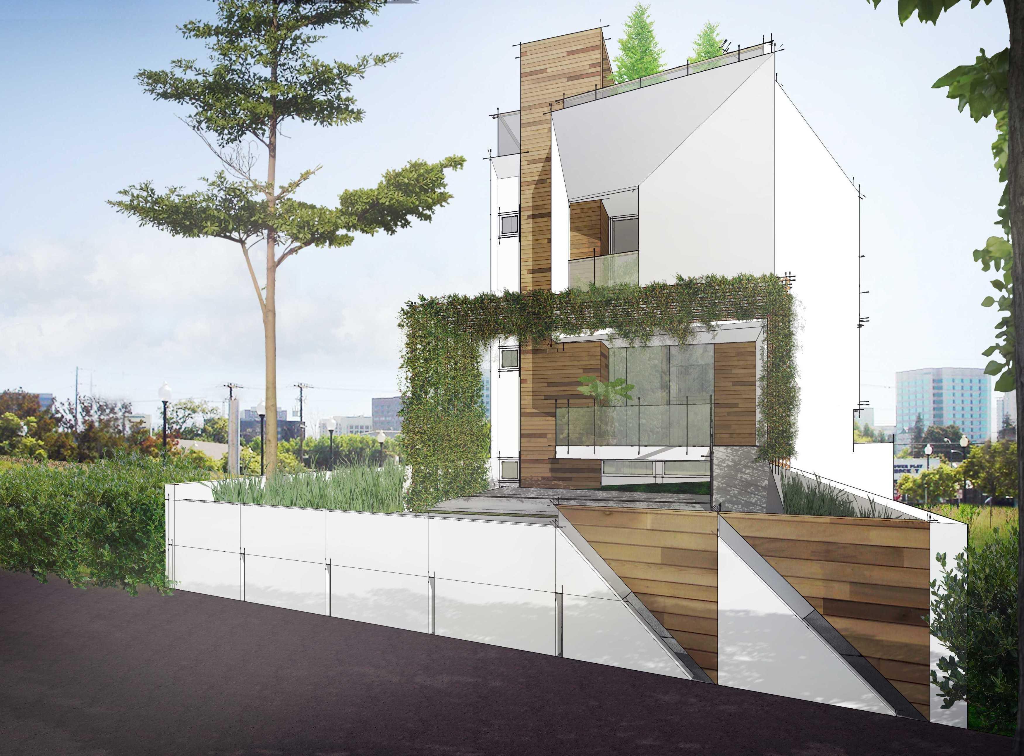 Gubah Ruang Studio G&i Residence Bandung, Kota Bandung, Jawa Barat, Indonesia Bandung, Kota Bandung, Jawa Barat, Indonesia Exterior View Kontemporer  50879