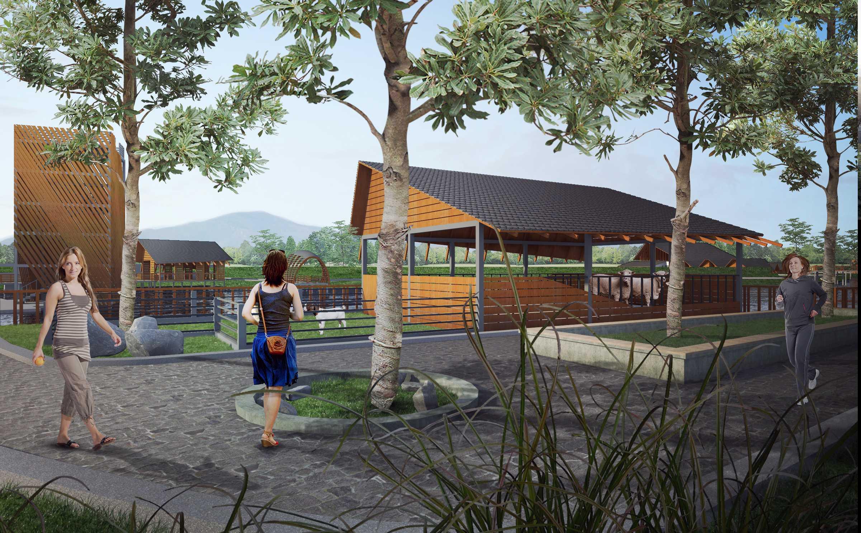 Gubah Ruang Mgl Masterplan Lembang, Kabupaten Bandung Barat, Jawa Barat, Indonesia Lembang, Kabupaten Bandung Barat, Jawa Barat, Indonesia Walkway Tropical  50886