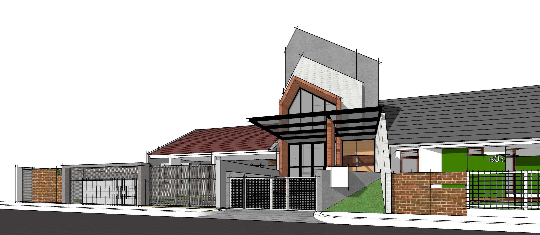 Gubah Ruang Studio C1 House Bandung, Kota Bandung, Jawa Barat, Indonesia Bandung, Kota Bandung, Jawa Barat, Indonesia Exterior View   51357