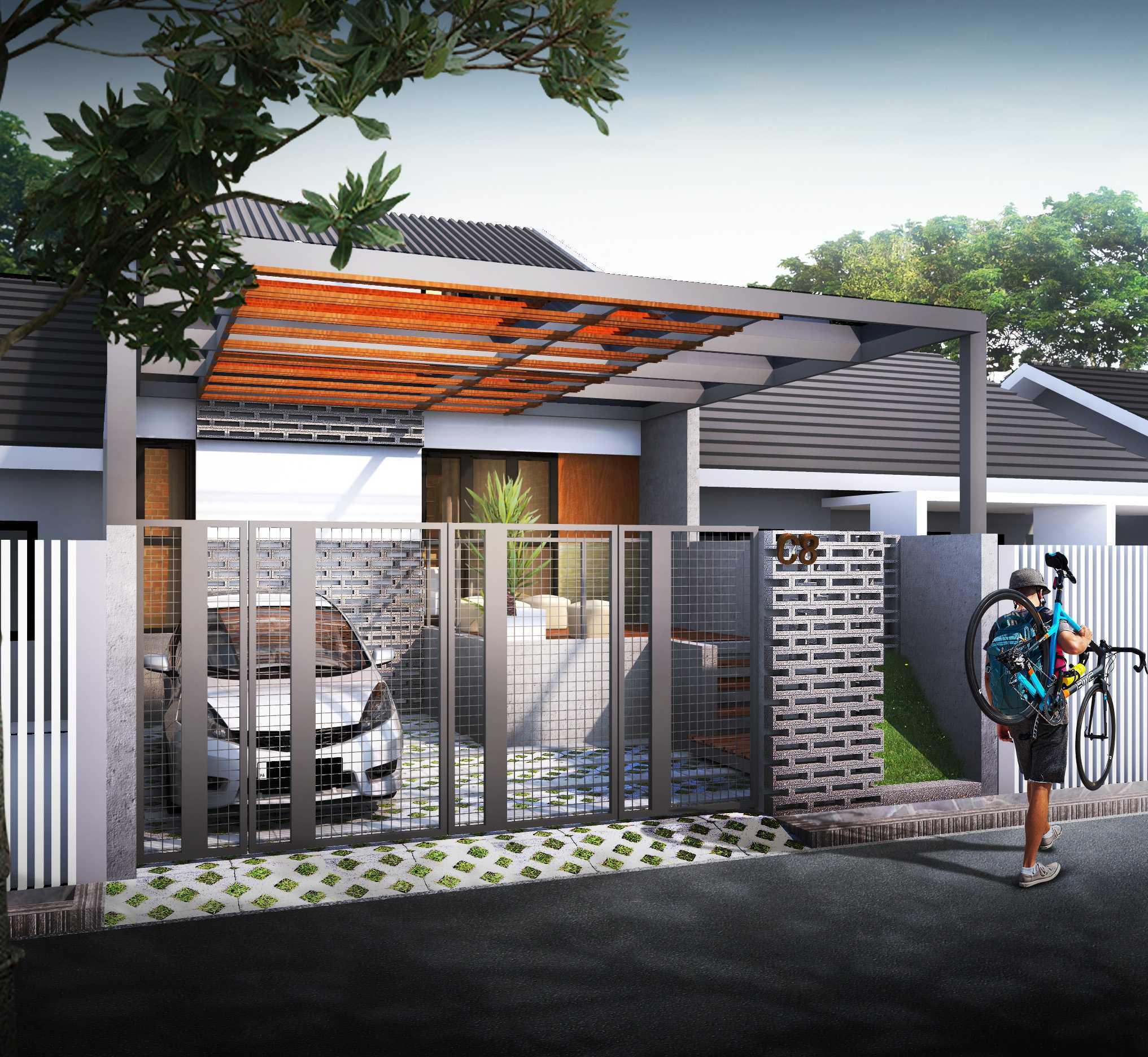 Gubah Ruang Pm-House Bandung, Kota Bandung, Jawa Barat, Indonesia Bandung, Kota Bandung, Jawa Barat, Indonesia Exterior View Minimalist  50907