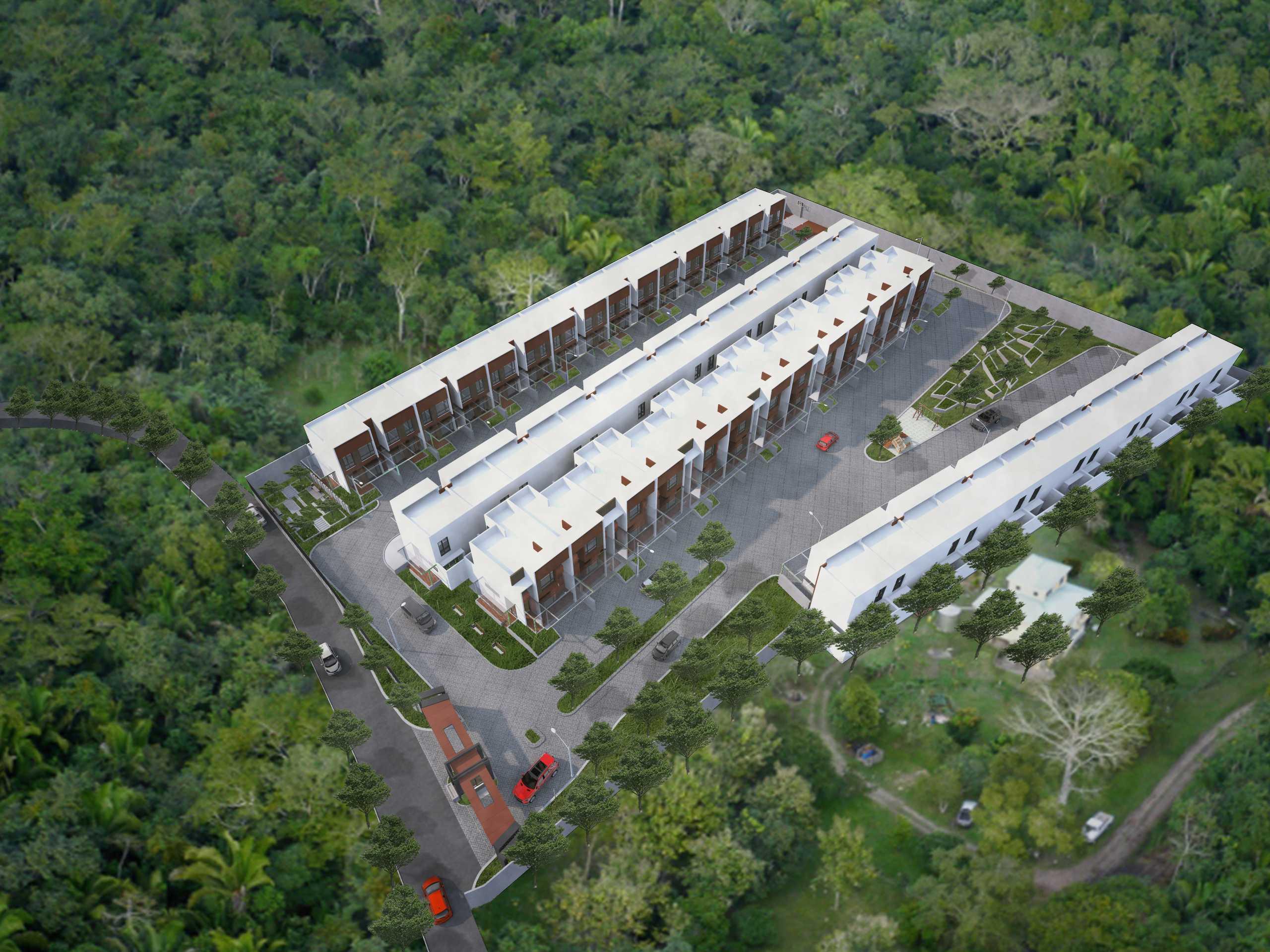 Gubah Ruang Studio Drn Residence Palembang, Kota Palembang, Sumatera Selatan, Indonesia Palembang, Kota Palembang, Sumatera Selatan, Indonesia Bird Eye View   50968