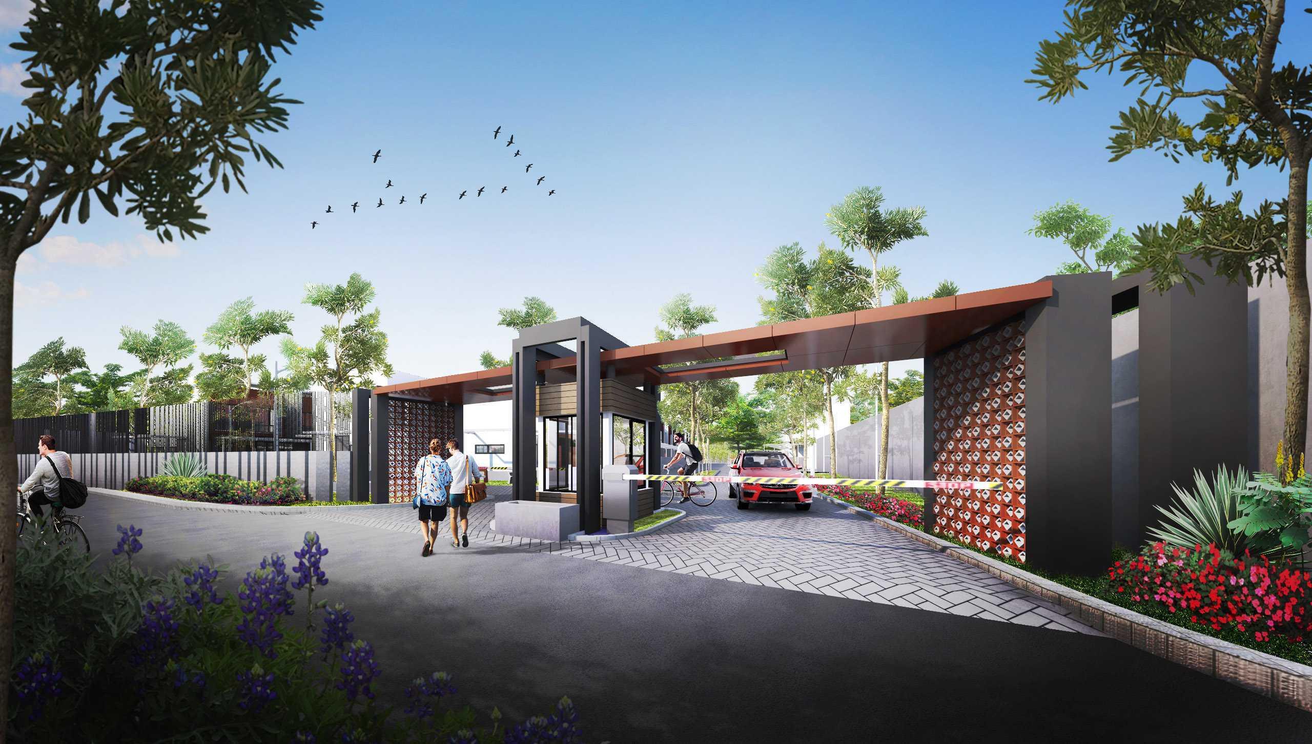 Gubah Ruang Studio Drn Residence Palembang, Kota Palembang, Sumatera Selatan, Indonesia Palembang, Kota Palembang, Sumatera Selatan, Indonesia Entrance Gate   50969