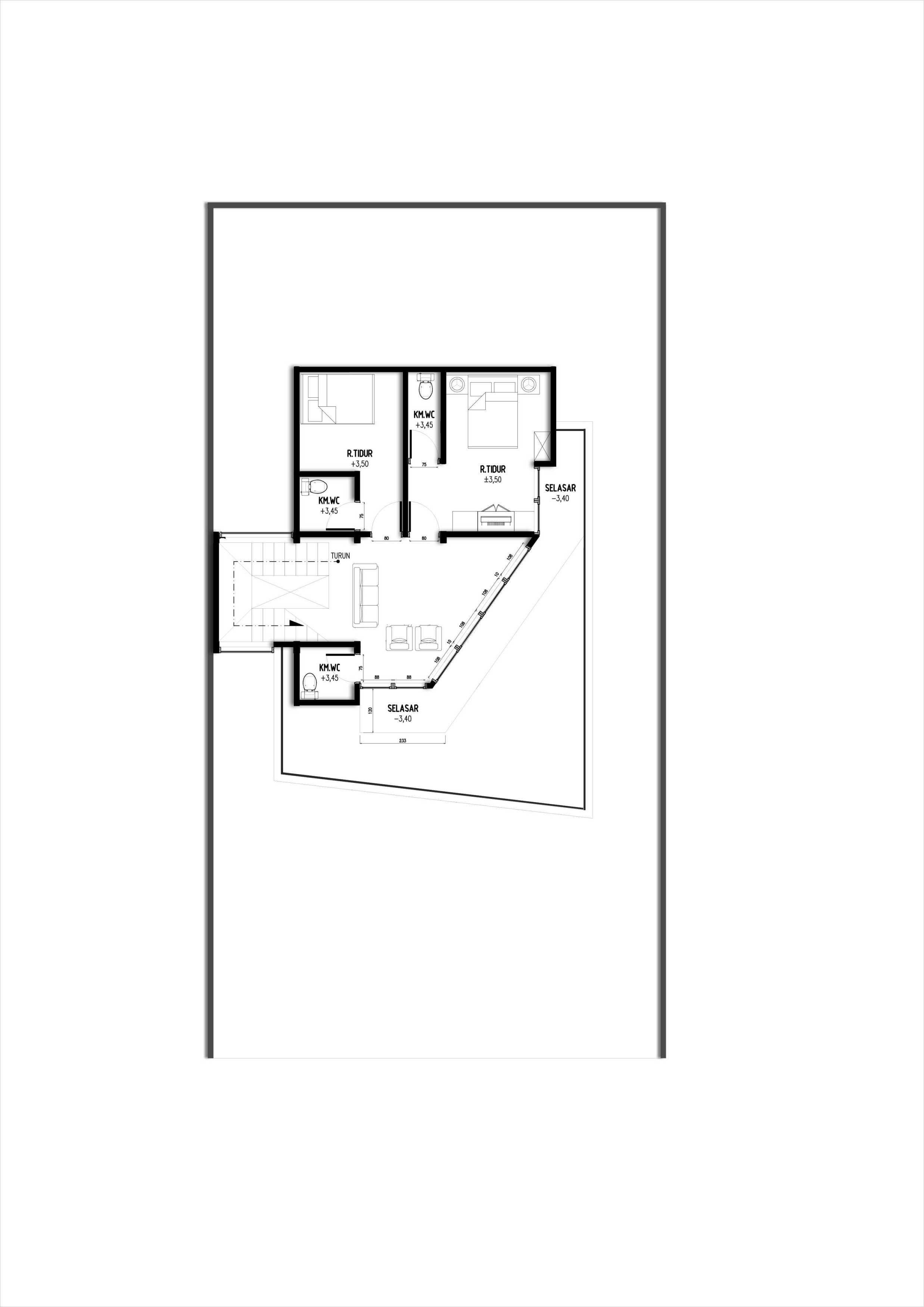 Gubah Ruang Sl House Bogor, Jawa Barat, Indonesia Bogor, Jawa Barat, Indonesia Floorplan Modern  51175