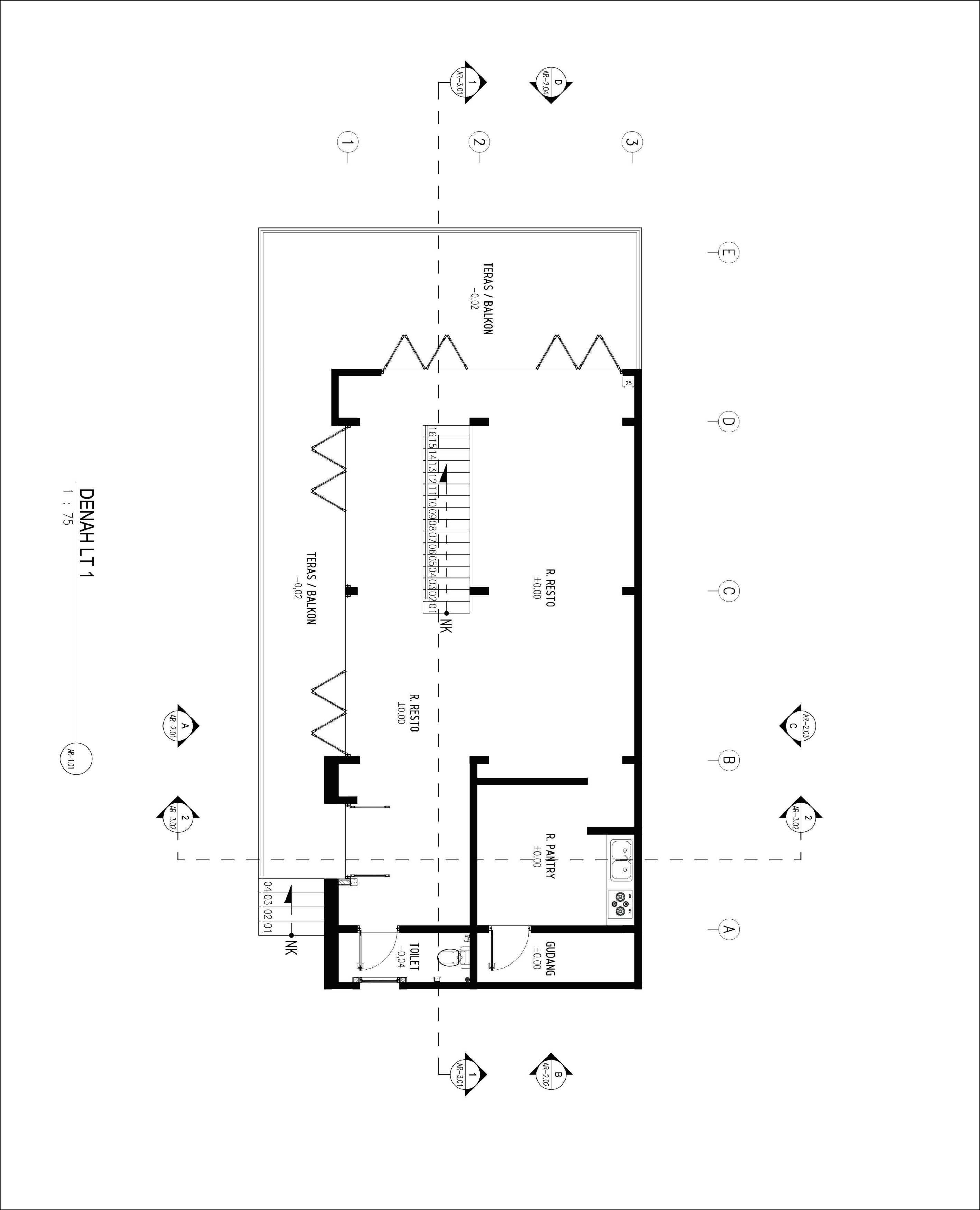 Gubah Ruang Walmar Fabric - Boutique & Resto Bandung, Kota Bandung, Jawa Barat, Indonesia Bandung, Kota Bandung, Jawa Barat, Indonesia Floorplan   51075