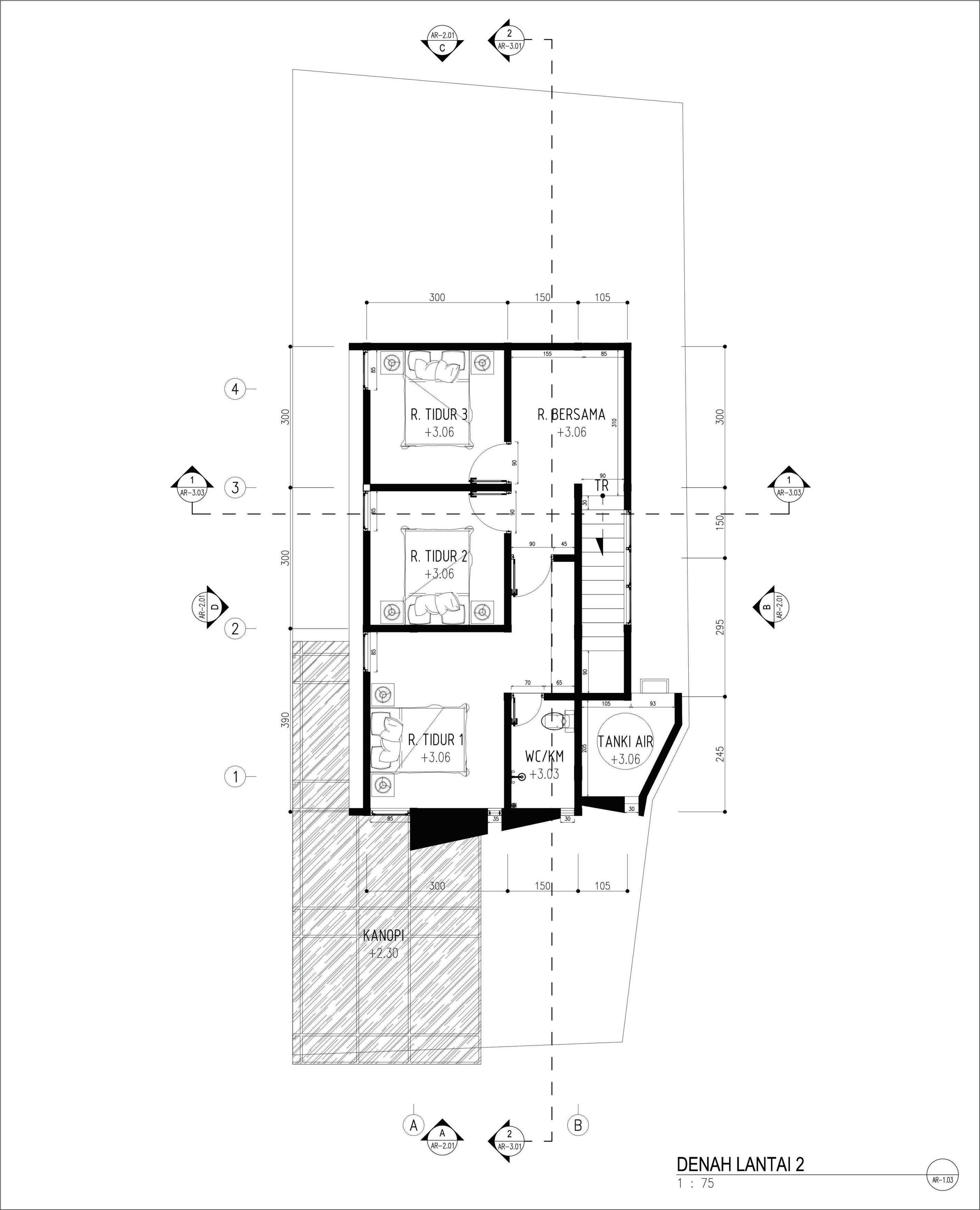 Gubah Ruang Rr House Bandung, Kota Bandung, Jawa Barat, Indonesia Bandung, Kota Bandung, Jawa Barat, Indonesia Floorplan Modern  51351
