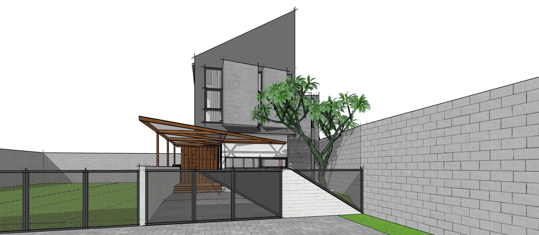 Gubah Ruang Rr House Bandung, Kota Bandung, Jawa Barat, Indonesia Bandung, Kota Bandung, Jawa Barat, Indonesia Exterior View Modern  51354