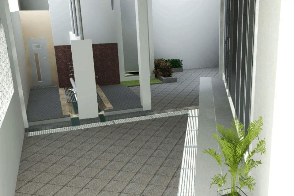 Photo Tempat Wudhu Pembangunan Masjid Baitul Iman 3 Desain Arsitek Oleh Interior Eksterior Depok Arsitag