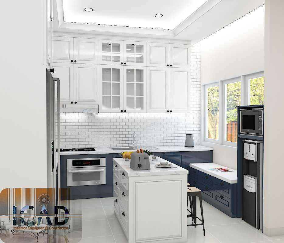 Photo Kitchen View Kitchen Set Classic Padma Residence Jakarta