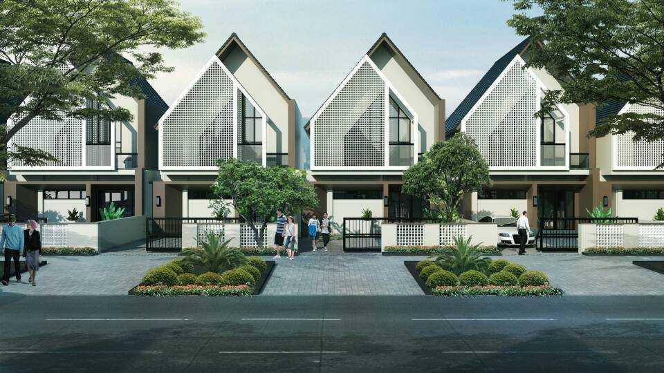 Alvin Rosandy Pm Housing Residential Pontianak, Kota Pontianak, Kalimantan Barat, Indonesia Pontianak, Kota Pontianak, Kalimantan Barat, Indonesia Front View Rendering Contemporary  45468