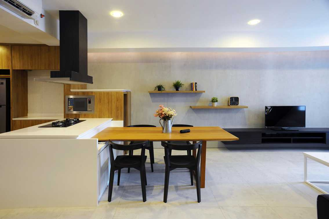 Tre Studio Vl Apartment Daerah Khusus Ibukota Jakarta, Indonesia Daerah Khusus Ibukota Jakarta, Indonesia Vl Apartment - Dining Room Minimalist  45660