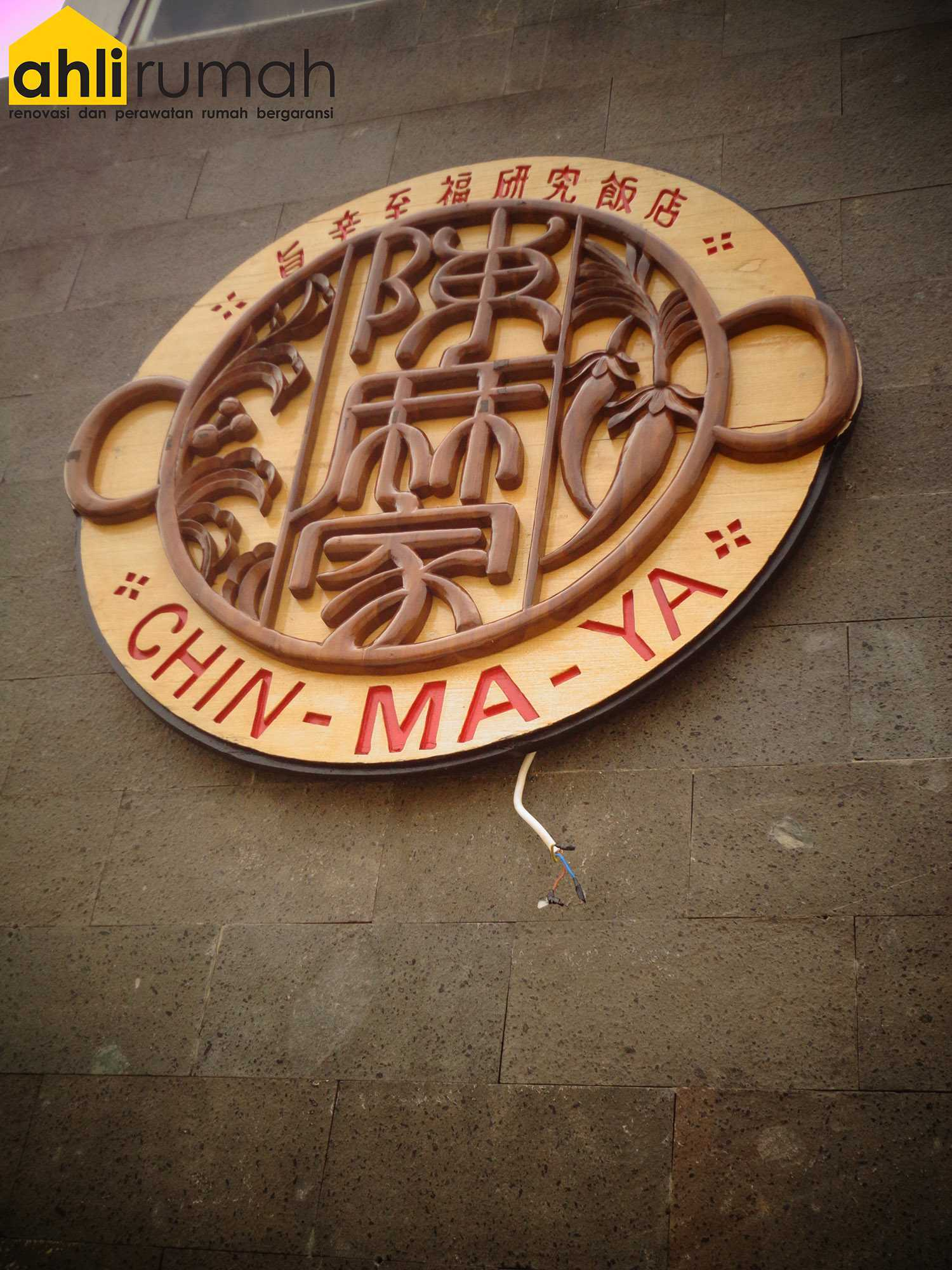 Ahlirumah.id Interior - Chin Maya Restauran Ruko Glaze 2 Blok D No. 17, Jl. Boulevard Raya Gading Serpong, Klp. Dua, Tangerang, Banten 15810, Indonesia  Chin-Ma-Ya Logo   49235