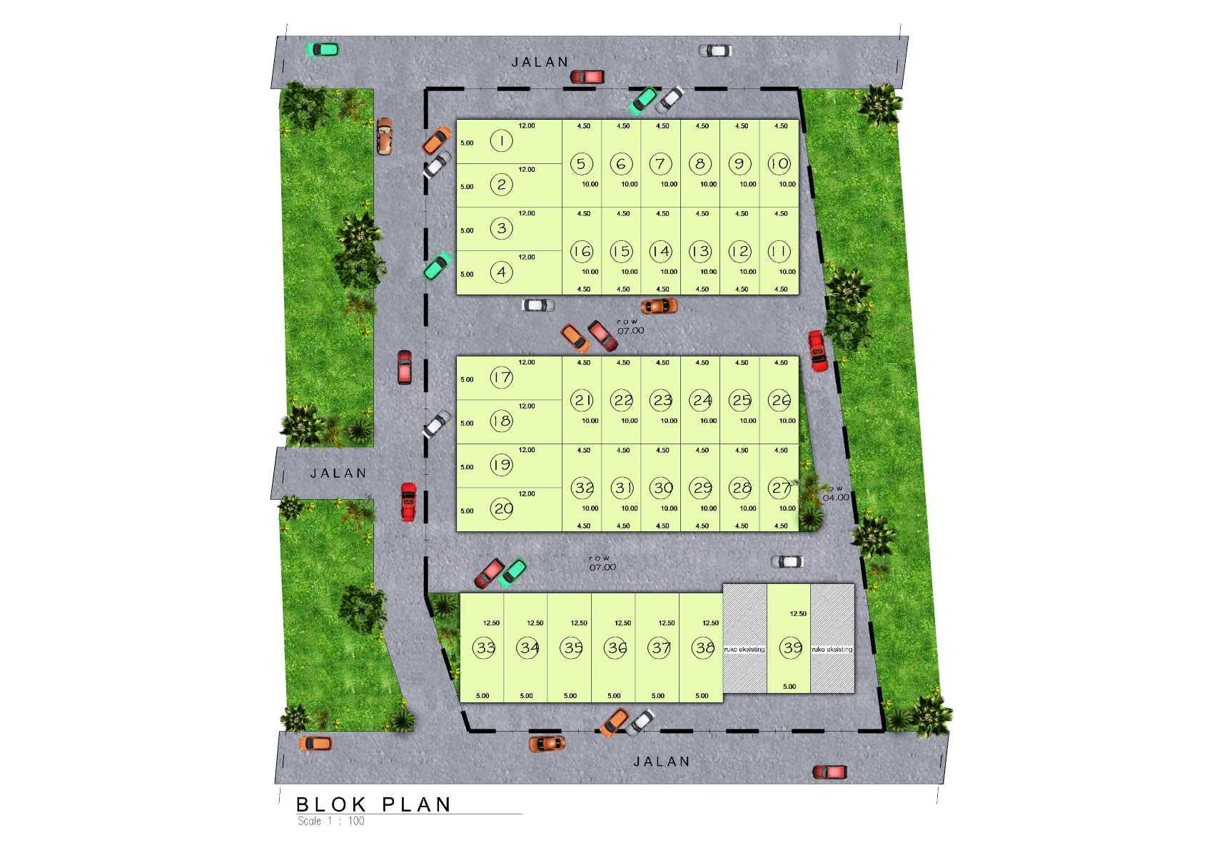 Satuvista Architect Rumah Toko - Ambon , Maluku   Pulau Ambon, Maluku, Indonesia Pulau Ambon, Maluku, Indonesia Masterplan  <P>Blok Plan</p> 49992